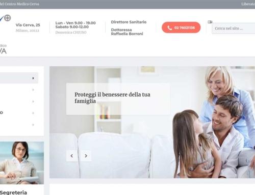 Sviluppo sito WordPress – Centro Medico Cerva